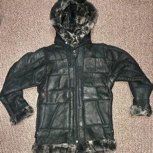 Other - Junior Kid Sized Imported GENUINE LEATHER Bomber